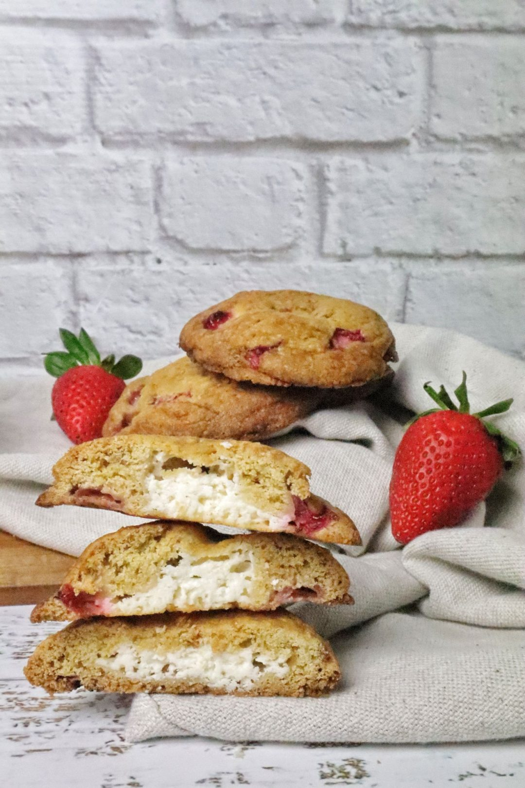 cheesecake-cookies-alle-fragole